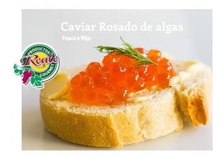 Caviar Rojo, Rosado, Negro, De Algas - Frasco X 90gr - Reale