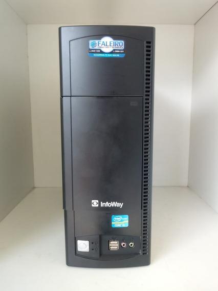 Computador Infoway Itautec 4255, Core I5 2ª Ger, 500gb, 4gb