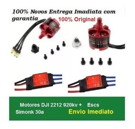 Motores Dji 2212 920 Kv Cw/ccw +esc Simonk 30a + Plug Bullet