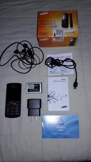 Celular Samsung Gt - E2121 Completo C/ Rádio Fm - Mp3 Music - Ótimo Estado