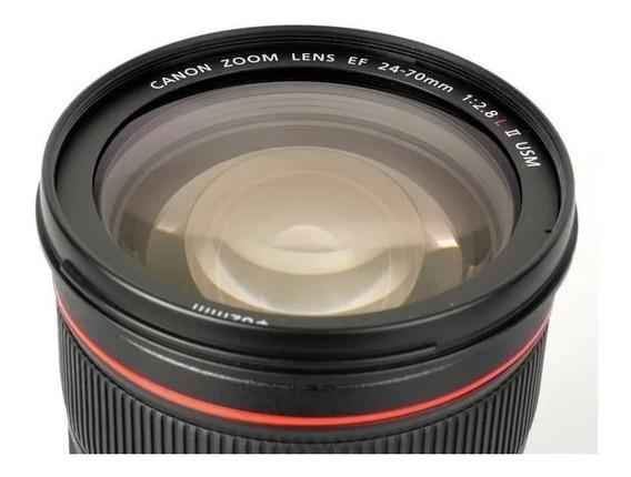 Lente Canon Nova 24-70mm F/2.8l Ii