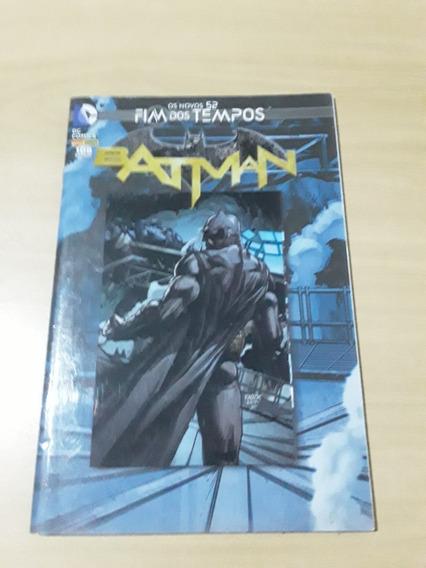 Hq Os Novos 52! Fim Dos Tempos - Batman Dc Comics