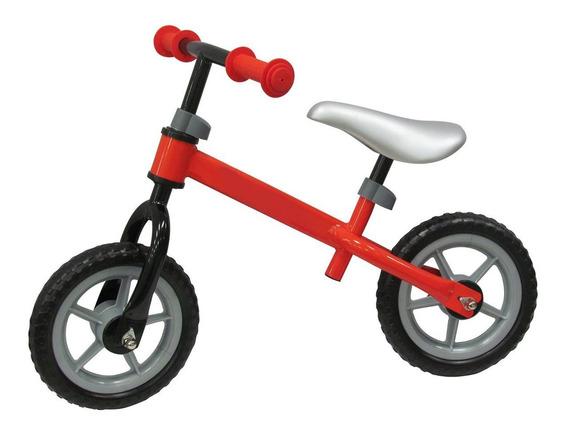 Bicicleta Para Niños Sin Pedales En Metal Color Rojo