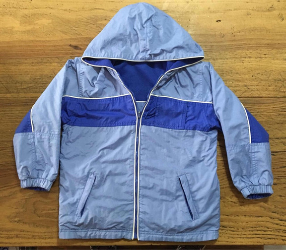Campera Reversible Importada Eeuu T. 6x Impermeable Excelent