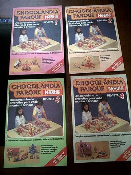 Revista Chocolandia Parque Completo Nestle Anos 80