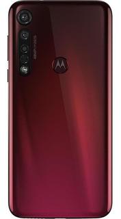 Smartphone Motorola Moto G8 Plus 64gb Vermelho Câmera Tripla