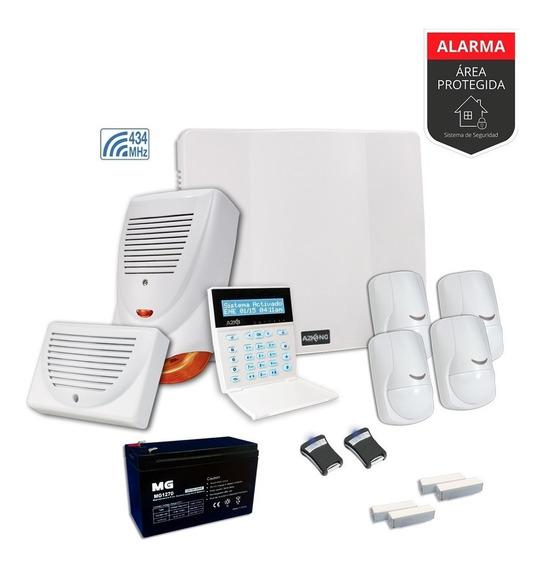 Alarma Para Casa Con Control Remoto Kit - Cableado