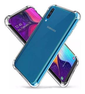 Funda Transparente Samsung + Vidrio Templado Curvo 5d 6d 9d