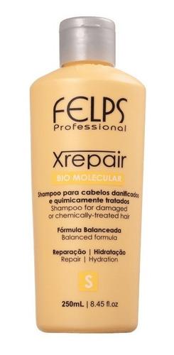 Felps Xrepair Shampoo 250ml + Brinde