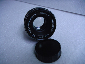 Lente Original Da Maquina Zenit, Mod. 58mm