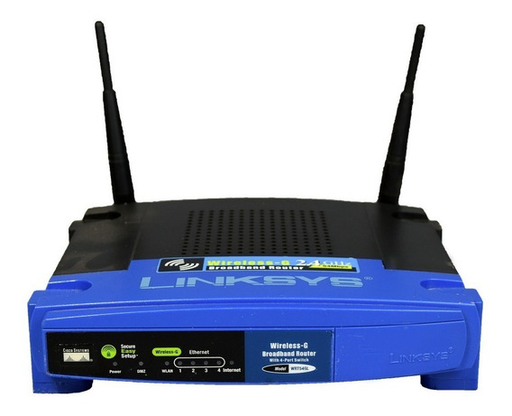 Cisco Linksys Wireless-g Broadband Router Wrt54gl #