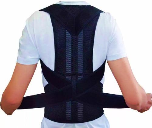 Imagen 1 de 4 de Faja Corregidor Espalda Corrector Postura Hombre Faja Lumbar