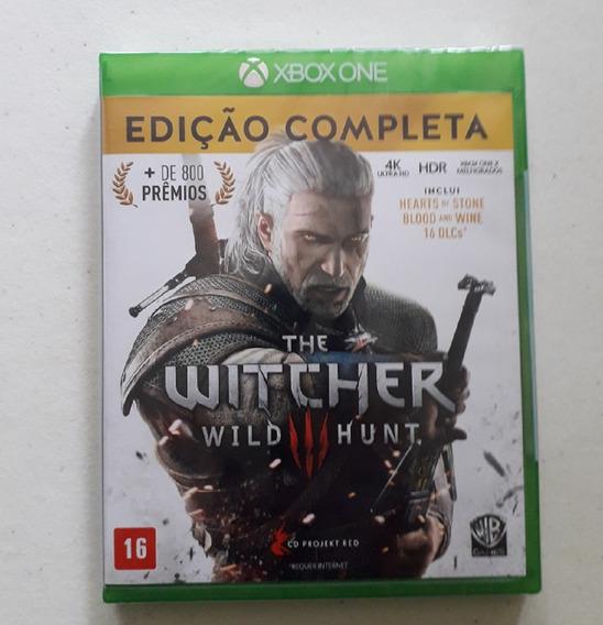 Jogo The Witcher 3 Xone Edição Completa 100 % Português Novo