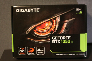 Gigabyte Geforce Gtx 1050 Ti Oc 4gb Gddr5 Gv-n105toc-4gd Pci