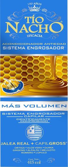 Acondicionador Tio Nacho Antiedad Engrosador X 415 Ml