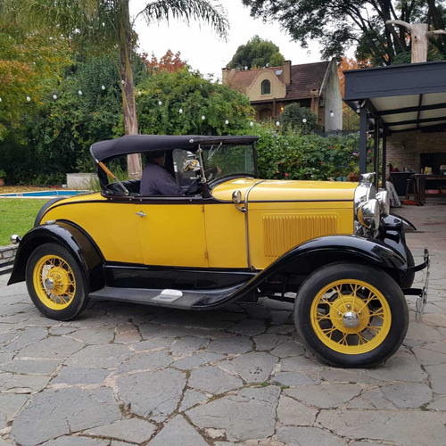 Imagen 1 de 1 de Ford A 1931 Roadster De Lujo