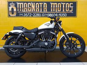 Harley Davidson 883n 2018 Branca Impecável.