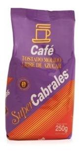 Café Super Cabrales Tostado Molido Sin Azúcar X 500 Gr.
