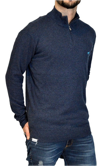 Sweater 1/2 Cierre Algodón Hombre Mistral 14792 Ver20