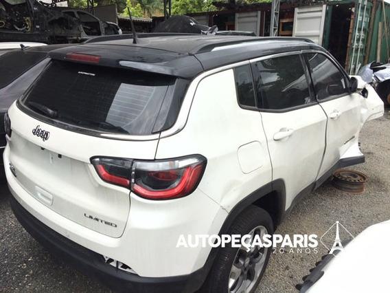Sucata Jeep Compass Limited 4x4 Diesel 2018 - Peças