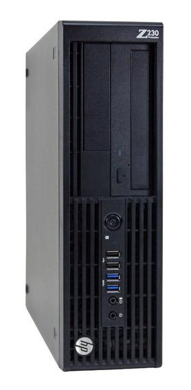Cpu Workstation Hp Z230 Intel Xeon E3-1245 4gb Hd 1tb Com Garantia E Nota Fiscal Entrega Imediata