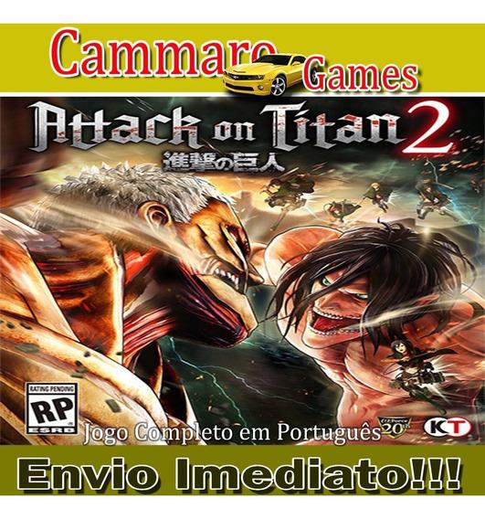 Attack On Titan 2 Em Pt-br + 3 Games
