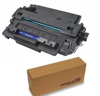 2 Un Tonnner Preto Impressor Laser Ce255a 255a 55 - P3015