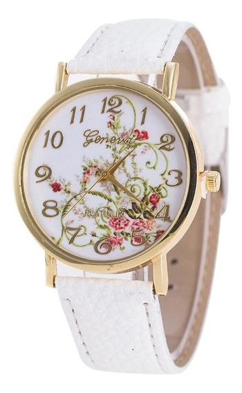 Flores Relógios Esporte Analógico