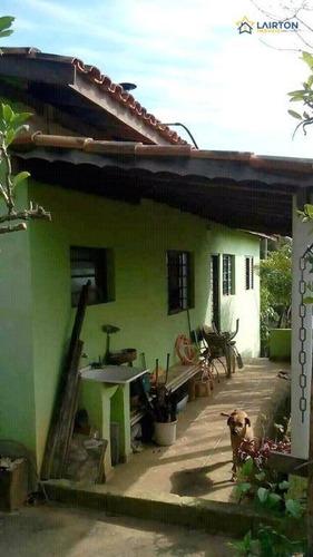 Chácara À Venda, 1170 M² Por R$ 210 Mil- Jardim Maracanã - Atibaia/sp - Ch1302