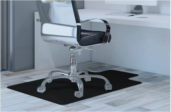 Tapete Protetor Piso/cadeira Game Linha Luxo 1,20x85 Preto.