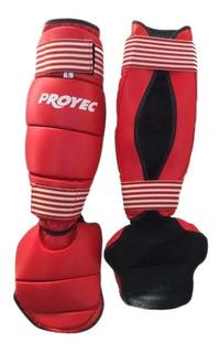 Protectores Tibiales Con Empeine - Kick Thai Mma Proyec