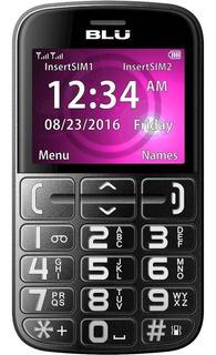 Celular Blu Teclas Grandes Fácil De Usar Botão Sos Som Alto