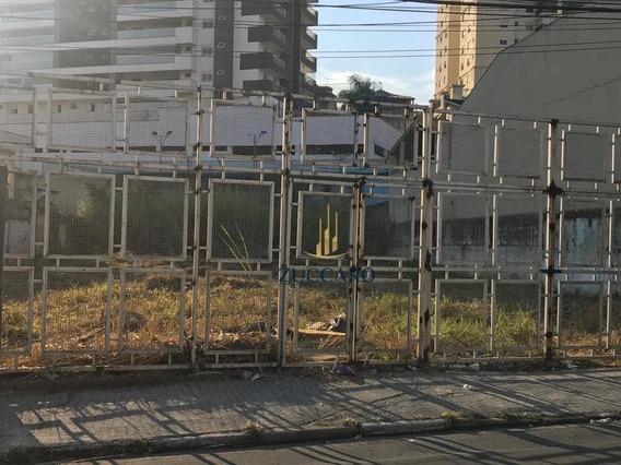 Terreno À Venda, 1000 M² Por R$ 1.800.000,00 - Vila Galvão - Guarulhos/sp - Te0835