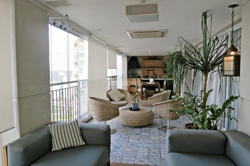 Panamby - Vista Panorâmica - 247m²au 4 Suítes -  4 Gar -  Terraço Gourmet Com Vista Panorâmica - Pp9410