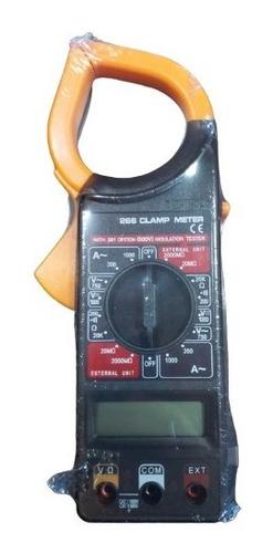 Pinza Digital Volt-amperométrica C/tester, Bateria Y Estuche