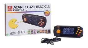 Console Atari Flashback Portátil 70 Jogos Tectoy Exclusivo