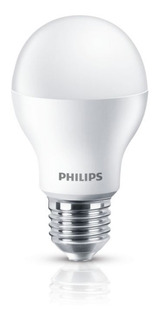 Pack 10 Lampara Led Philips 9w 10w = 60/70w E27 220v Casa