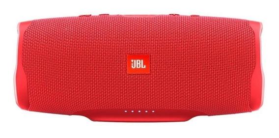 Caixa de som JBL Charge 4 portátil sem fio Red