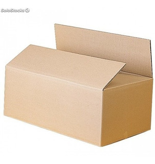 Caja Carton Reforzada Ecomerce 255x140x105