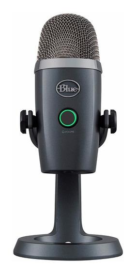 Microfone Blue Yeti Nano Condensador Premium Usb Streaming