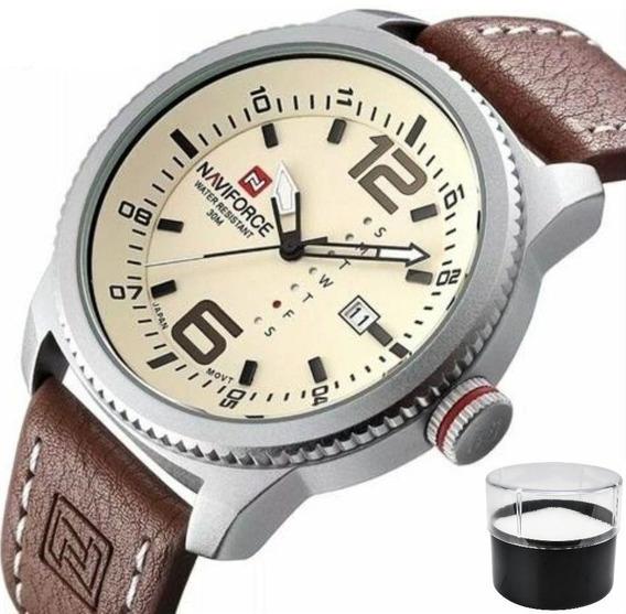 Relógio Naviforce 9063 Original Estojo Nota Fiscal Promoção