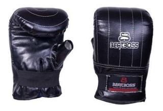 Guantin Boxeo Reforzado Sintetico Con Abrojo Beatboss A017