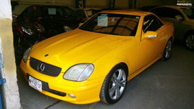 Mercedes Benz Slk 230 Ka 2002 Convert Aa Ee Piel Cd Rines
