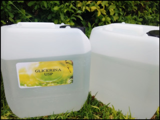 Glicerina Liquida Usp Vegetal 1 Gal Cosmetico Vapeo Alimento
