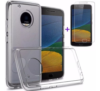 Capa Motorola Moto G5 Tela 5.0 Xt1672 + Película Vidro