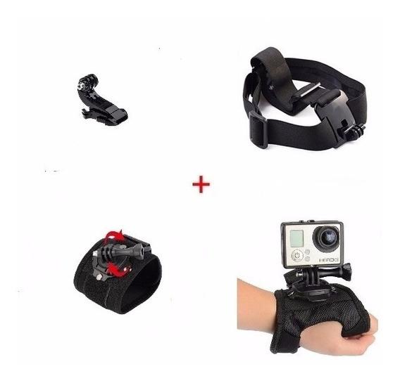 Gopro Kit Acessórios Câmera Hero Plus 3+ 4 5 6 7 Session