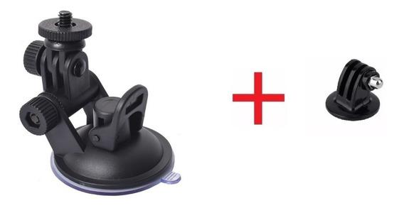 Mini Suporte Ventosa Sucção Gopro Hero 6/5/4/3 Plus