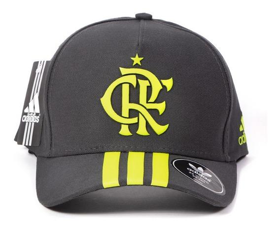 Bone Flamengo Aba Curva Snapback Fitão