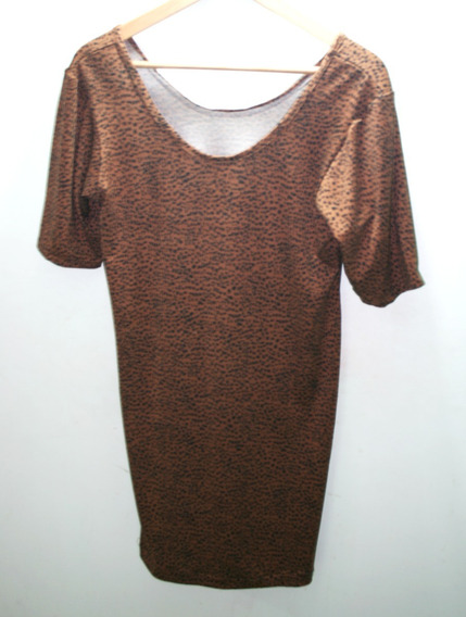 Blusa Usada Dama Diseño Leopardo