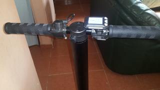 Scooter Eléctrico 250 Watts C/luz Led De Acero, Portátil.